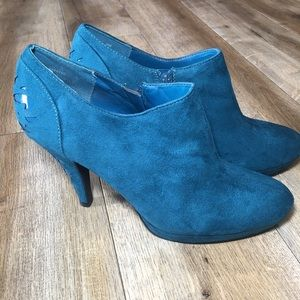 IMPO WOMEN PLATFORM ANKLE BOOTIES SIZE 9
